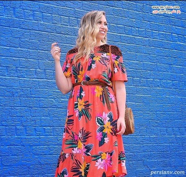 لباس رنگ مرجانی