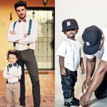 مدل های شیک از لباس های ست پدر و پسر در سنین مختلف