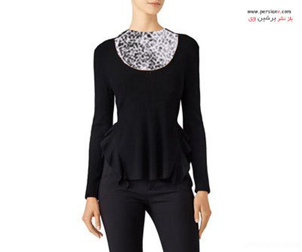 مدل یقه پیراهن زنانه