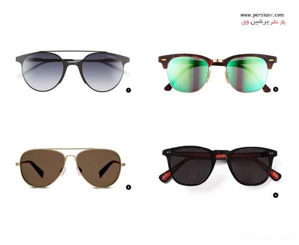 انتخاب عینک آفتابی متناسب با چهره
