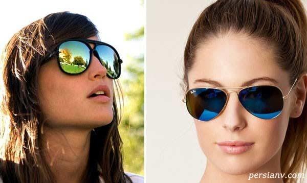 فوت و فن انتخاب عینک آفتابی متناسب با چهره