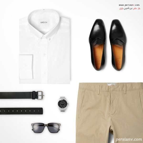 آموزش ست کردن لباس مردانه