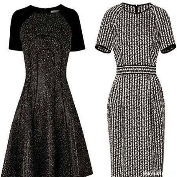 لباس برای خانم های قد بلند