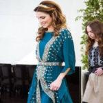 مدل لباس ملکه اردن با الهام از لباس مردانه