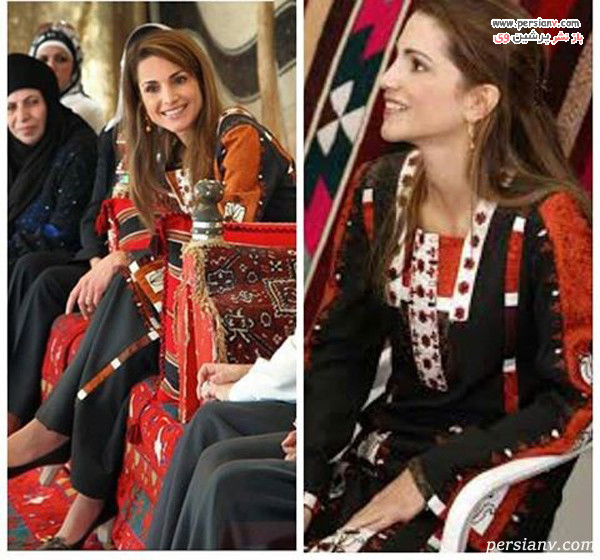 مدل لباس ملکه اردن