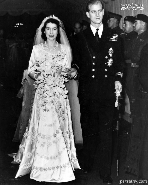 عروسی ملکه الیزابت دوم
