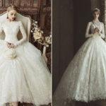 ترند لباس عروس و تصاویر جالب از سیر تکامل آن از گذشته تا حال