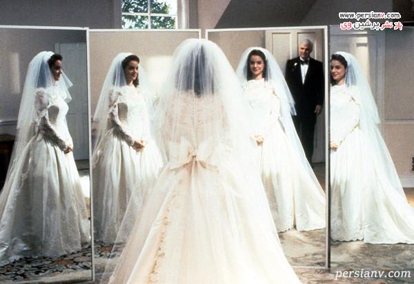 تصویری از لباس پاپیونی فیلم پدر عروس