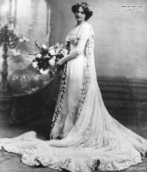 لباس عروس دوره ادواردی