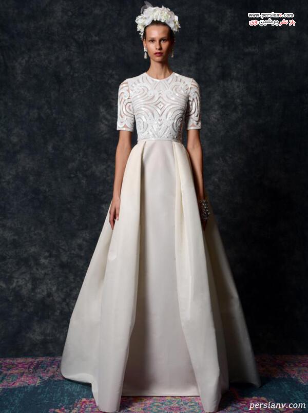 لباس عروس تی شرتی