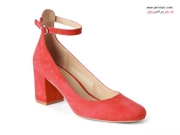 کفش پاشنه متوسط