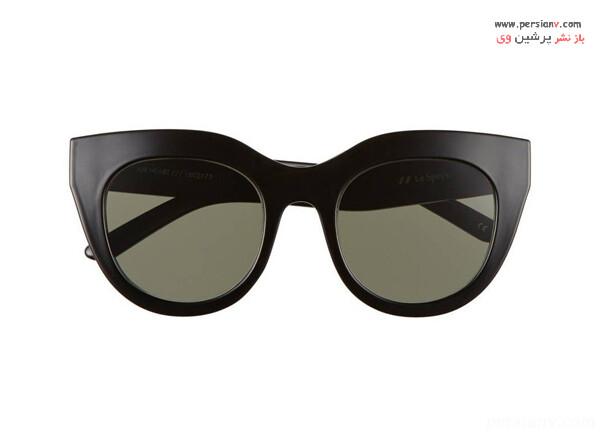 عینک آفتابی با فریم خاص