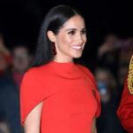 لباس مجلسی سلطنتی مگان مارکل در مراسم های مختلف