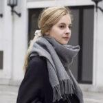 طرز بستن شال گردن زمستانی به سبک استایل های مدرن
