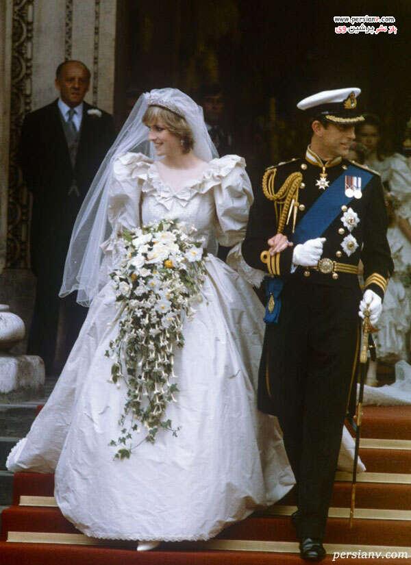 لباس عروس دایانا