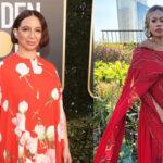 مراسم گلدن گلوب ۲۰۲۱ و مدل لباس های فرش قرمز