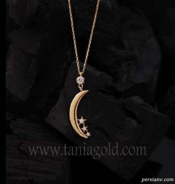 گردنبند طلا طرح ستاره
