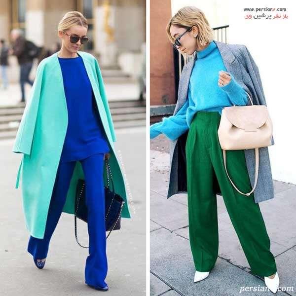 سبز و آبی
