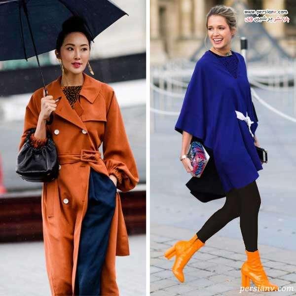 رنگ های مکمل در لباس