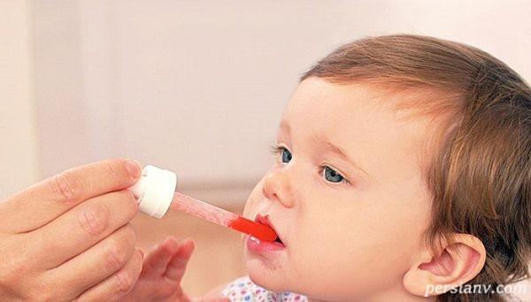 اثر قطره مولتی ویتامین در نوزادان