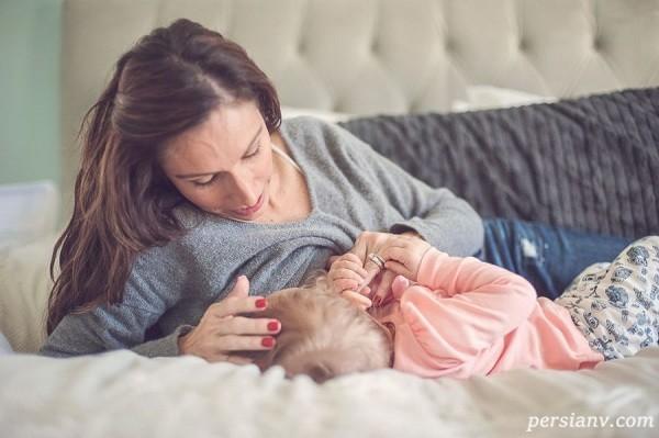 علت کاهش شیر مادر