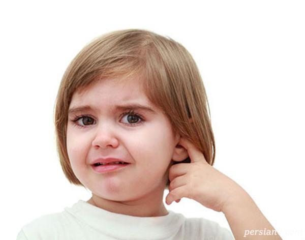 گوش درد کودک