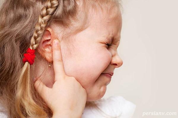 تسکین گوش درد کودک