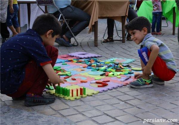 تابستان و بازی های تابستانی برای کودکان