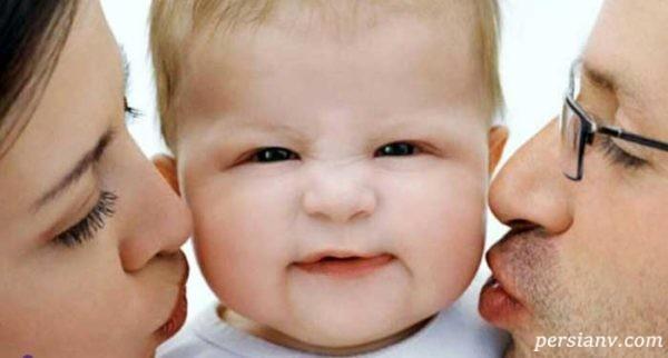 از بوسیدن نوزاد تا انتقال بیماری