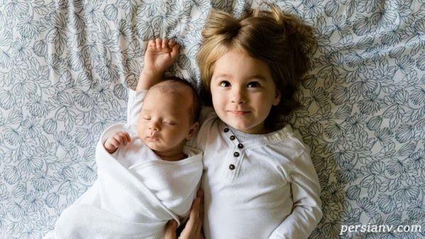 تاثیر تولد فرزند دوم بر فرزند اول