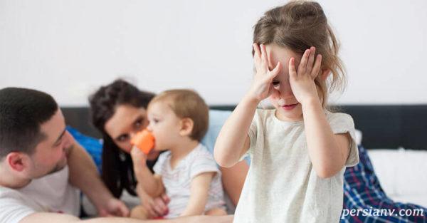 تولد فرزند دوم به منزله استرس برای فرزند اول است