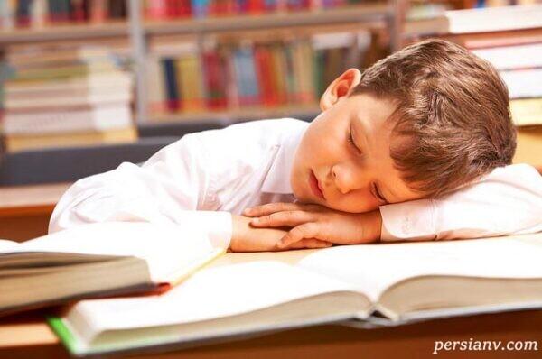 تنظیم ساعت خواب دانش آموزان