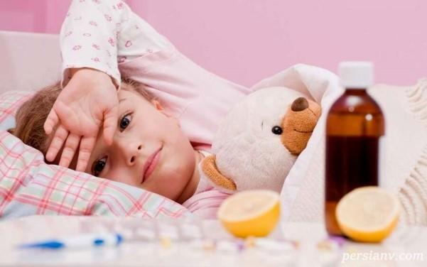 تب های شایع در کودکان
