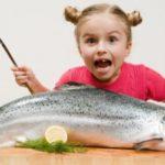 تاثیر خوردن ماهی بر نوزادان