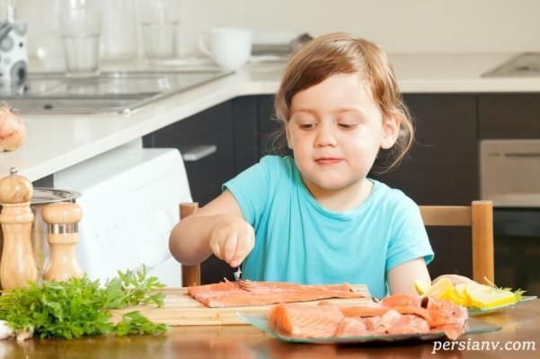 خواص ماهی برای کودکان