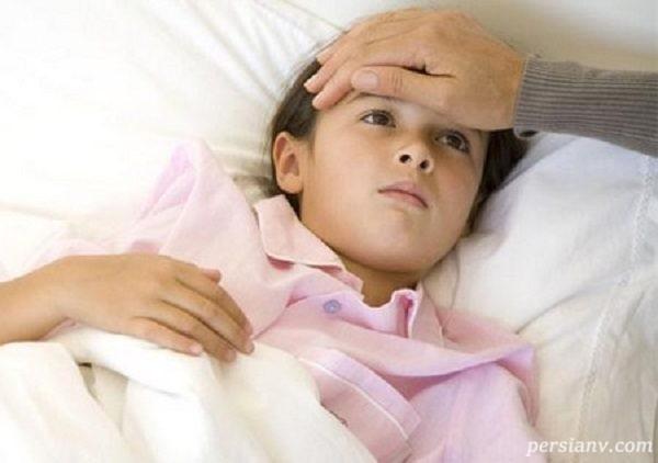 از کجا بفهمیم کودکمان تب دارد