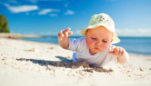 مراقبت از نوزاد در تابستان