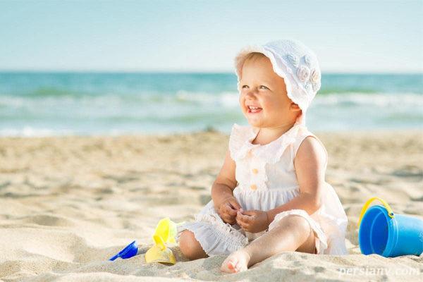 مراقبت از نوزادان در تابستان