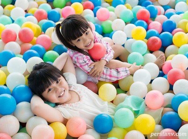 سرگرم کردن کودکان در تابستان