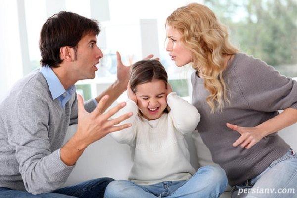 اثر جر و بحث والدین بر مغز کودک