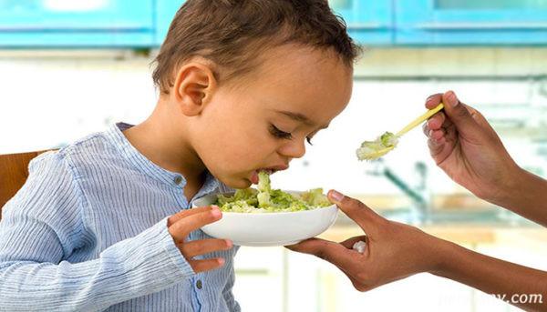 غذای کودک بیمار