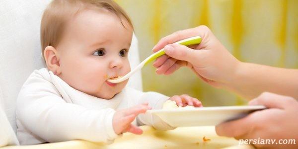 اصول غذا دادن به کودک