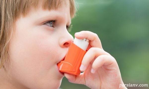 آسم شایع ترین بیماری مزمن بچه ها