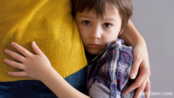 دلایل استرسی شدن کودک