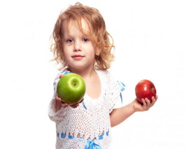 خاصیت سیب برای کودکان