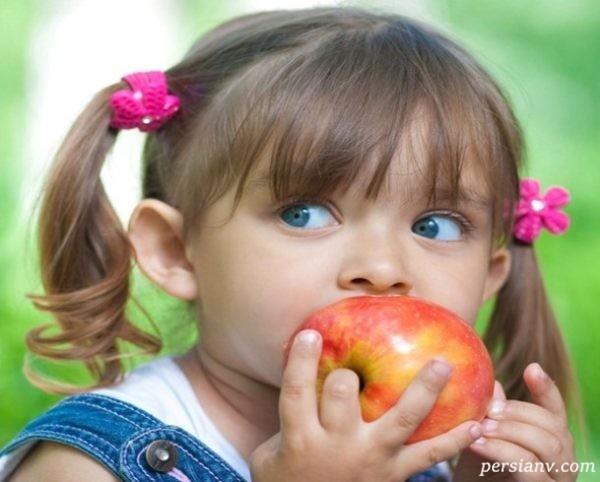 خاصیت سیب برای کودکان!