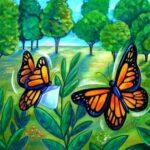 قصه ی آمورنده آزادی پروانه ها