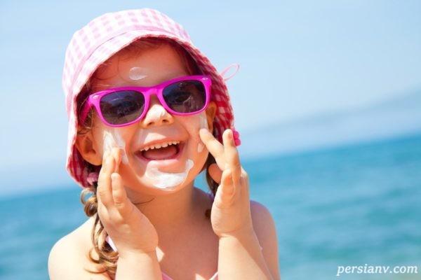 کودکان در تابستان