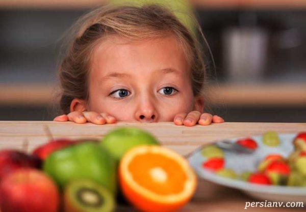 غذای کودکان بیش فعال