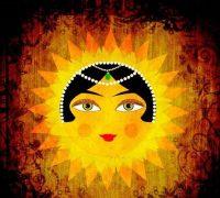 شعر کودکانه خورشید خانم